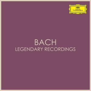 آلبوم: Bach - legendary recordings Johann Sebastian Bach