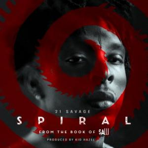 تک موزیک: Spiral - from the book of saw soundtrack 21 Savage