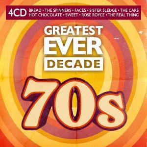 آلبوم: Greatest ever decade the seventies (4cd) (2021) Various Artists